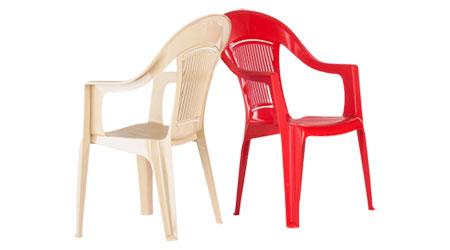 Кресло пластиковое элластик
