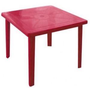 Стол Реал красный