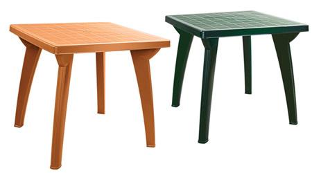 Пластиковые столы. Пластмассовые столы для кафе.