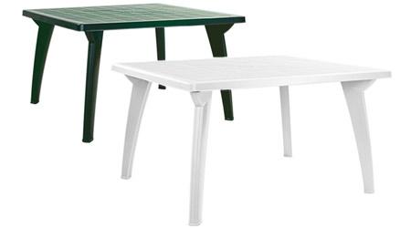 Стол прямоугольный пластиковый