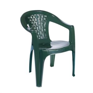 кресло пластиковое кемер зеленое