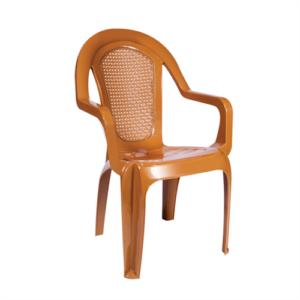 Кресло стар коричневое