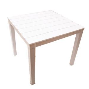 белый стол прованс квадратный
